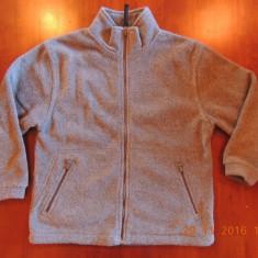 Hanorac jacheta din polar pentru baieti de 7-8 ani 128 cm, Marime: Alta, Culoare: Gri