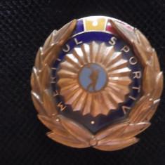 Ordinul Meritul Sportiv clasa III-a / stare impecabila