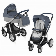 Baby Design Dotty 03 Blue 2016 - Carucior 2 in 1 - Carucior copii 2 in 1
