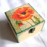 Cutie din lemn - maci - 27769