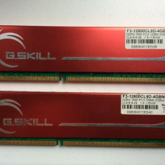 Memorie G.SKILL 4GB (2 x 2GB) 240-Pin DDR3 SDRAM 1600 (PC3 12800) Dual Channel - Memorie RAM