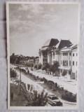 Buzau ,Bulevardul Nicolae Balcescu , circulata 1955, Fotografie