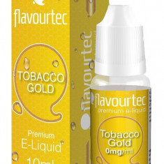 Tabac Gold 10ml Flavourtec - Lichid tigara electronica