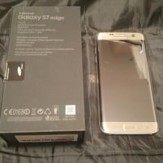 Samsung Galaxy S7 EDGE 32GB GOLD cu Factura si Garantie - Telefon Samsung, Auriu, Neblocat, Single SIM