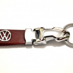 Breloc VW piele 100% - Breloc Auto Volkswagen