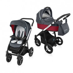 Baby Design Husky Wp 02 Navy 2016 - Carucior Multifunctional 2 In 1 - Carucior copii 2 in 1