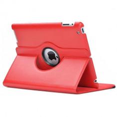 Husa iPad Air 2 Rotativa 360 Rosie - Husa Tableta
