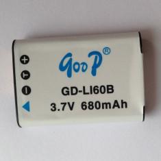Acumulator tip EN-EL11 / Li-60B / D-Li-78 / DB80 Li-ion 680mAh - Baterie Aparat foto Nikon