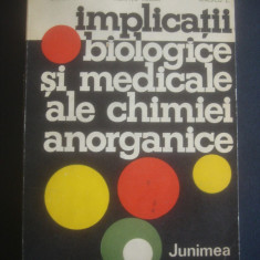 I. GRECU, N. MARIA, L. ENESCU - IMPLICATII BIOLOGICE SI MEDICALE ALE CHIMIEI ...
