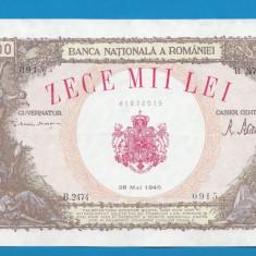 10000 lei 1946 28 mai 3 aUNC - Bancnota romaneasca