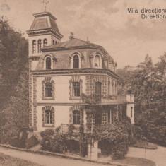 RESITA VILA DIRECTIONALA - Carte Postala Banat dupa 1918, Necirculata, Printata
