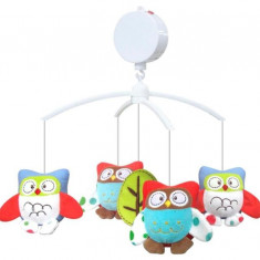 Carusel Muzical Owls - Jucarie zornaitoare Baby Mix