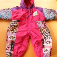 Combinezon copii cca 6 luni -1 an, fas, dublat, vreme rece, ca nou, vezi dim happy people, Marime: Alta, Culoare: Din imagine