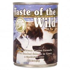Bax 12 Conserve Taste Of The Wild Pacific Stream 390 gr. - Hrana caini