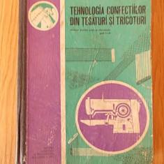 TEHNOLOGIA CONFECTIILOR DIN TESATURI SI TRICOTURI- STANCU, COSTACHE-CROITORIE
