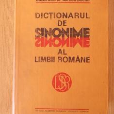 DICTIONARUL DE SINONIME AL LIMBII ROMANE- LUIZA SECHE, MIRCEA SECHE- cartonata - Dictionar sinonime Altele