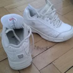 Adidasi copii WILSON marime 28 2/3 (18 cm), Marime: 28.5, Culoare: Alb