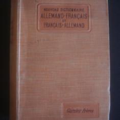 DICTIONAR GERMAN FRANCEZ, FRANCEZ GERMAN