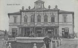 PANCIU , SALUTARI DIN PANCIU , CIRCULATA 1917 POSTA GERMANA FELDPOST, Printata, Pascani