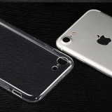 Husa silicon transparenta TPU iPhone 7