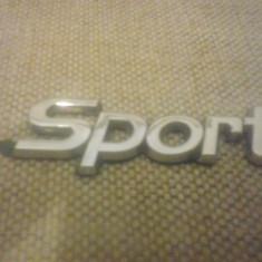 Sigla emblema - Sport - ALFA ROMEO - 80 x 27 mm - Embleme auto
