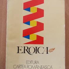 EROICA- antologie - Carte Antologie