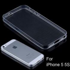 Husa silicon transparenta TPU iPhone 5 5s SE  la cel mai bun pret !
