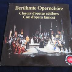 Lamberto gardelli - Berühmte Italienische Opernchöre_vinyl, LP, germania - Muzica Clasica emi records, VINIL
