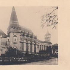 HUNEDOARA CASTELUL CORVINESTILOR VEDERE GENERALA - Carte Postala Transilvania dupa 1918, Necirculata, Fotografie