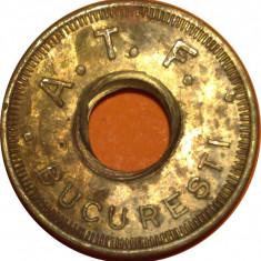 Jeton Asociatia de Teatru si Film Bucuresti 1 - Jetoane numismatica