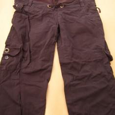 Pantaloni gravide, bumbac, tip denim moale, stare f buna, vezi dimensiuni
