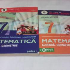 CULEGERE MATEMATICA CLASA 7 PARTEA 1+2 ALGEBRA, GEOMETRIE COMPER 2011