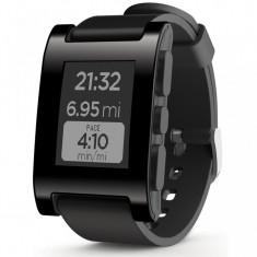 Ceas Smartwatch Pebble Original, Black