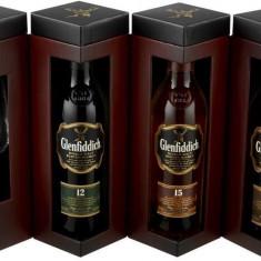 Glenfiddich Explorer's Collection cu Pahar 3x0.2L - Whisky