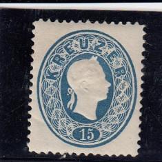AUSTRIA 1866/70, MI 22, N. D. MNH, Nestampilat