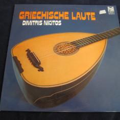 Dimitris nikitos - griechische laute _ vinyl, LP, germania, muzica greceasca - Muzica Folk Altele, VINIL
