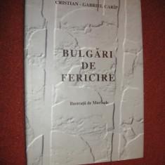 Bulgari De Fericire - Cristian-Gabriel Carip - exemplarul Nr. 19 semnat de autor - Carte de colectie