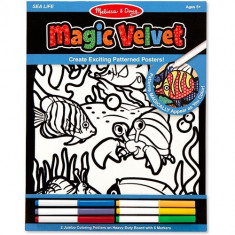 Catifeaua Magica Viata Marina Melissa And Doug - Jocuri arta si creatie Melissa & Doug