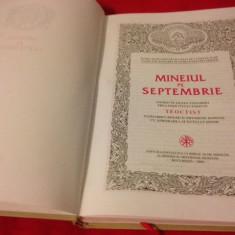 MINEIUL PE SEPTEMBRIE