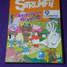 DVD desene animate - Strumfii - ANIMALUTELE STRUMFILOR DUBLAT IN ROMANA - Film Colectie