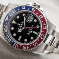 Ceas Luxury Rolex GMT Master II Red Blue Edition Barbati replica 1:1 | GARANTIE - Ceas barbatesc Rolex, Lux - elegant, Quartz, Inox, Analog, Nou