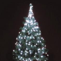Ghirlanda 250 LED-uri albe micro, interior si exterior, 2.4 m - Ornamente Craciun