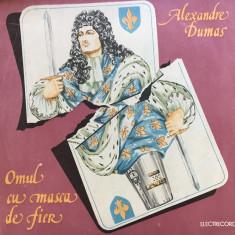 OMUL CU MASCA DE FIER - Alexandre Dumas (2 DISCURI VINIL) - Muzica pentru copii