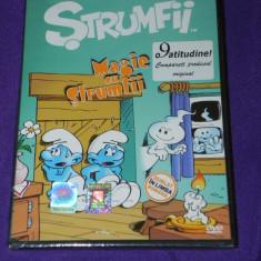 DVD DESENE ANIMATE - MAGIE CU STRUMFII DUBLAT IN ROMANA - Film Colectie