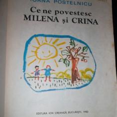 IOana Postelnicu- Ce ne povestesc Milena si Crina - Carte educativa