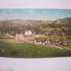 Cp baile vulcana puturile de jod anul 1914 circulata, Printata, Arinis