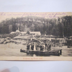 Cp vedere de peste vale anul 1908 scrisa - Carte Postala Moldova 1904-1918, Stare: Circulata, Tip: Printata, Oras: Piatra Neamt
