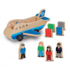 Set De Joaca Avion Cu Pasageri Melissa And Doug - Vehicul Melissa & Doug