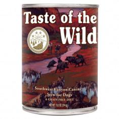 Bax 12 Conserve Taste Of The Wild Southwest Canyon 390 gr. - Mancare caini
