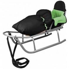 Sanie Baby Dreams Rider Cu Sac De Iarna Speedy Verde